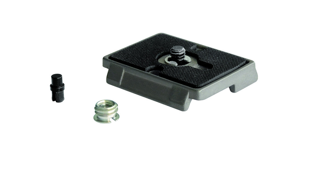 Manfrotto 200PL Quick Release Plate with Screw and Bushing Adapter