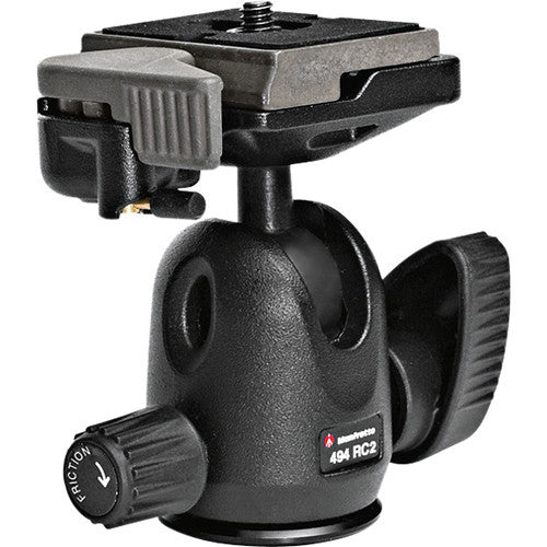 Manfrotto 494rc2 Mini Ball Head with Rc2