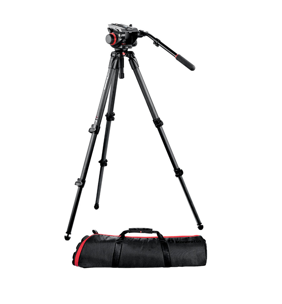 Manfrotto 504HD,535K Midi Carbon Fiber System