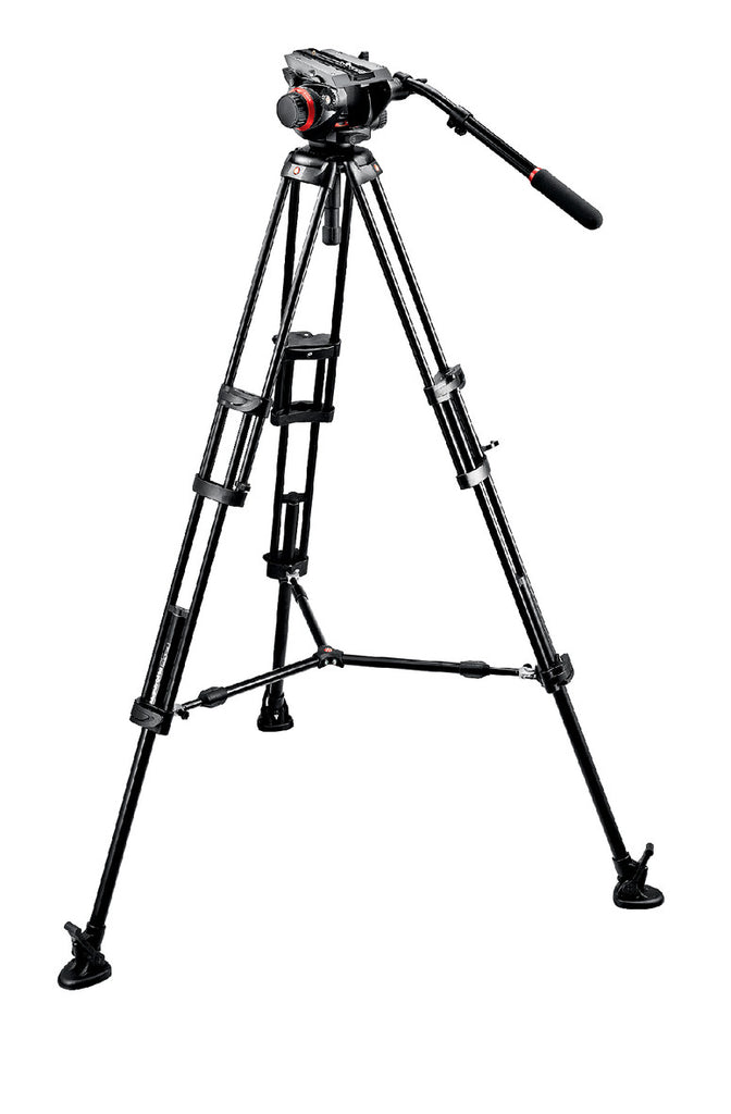 Manfrotto 504HD,546BK Midi Twin System (MS)