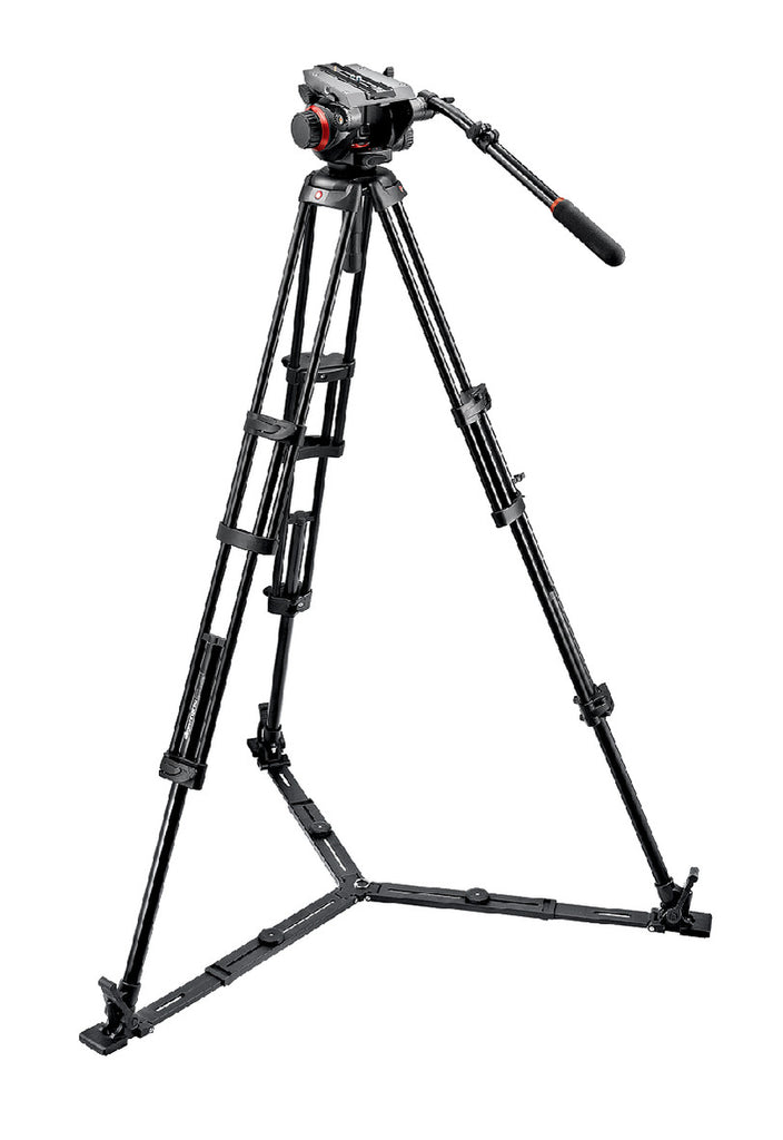 Manfrotto 504HD,546GBK Midi Twin System (GS)