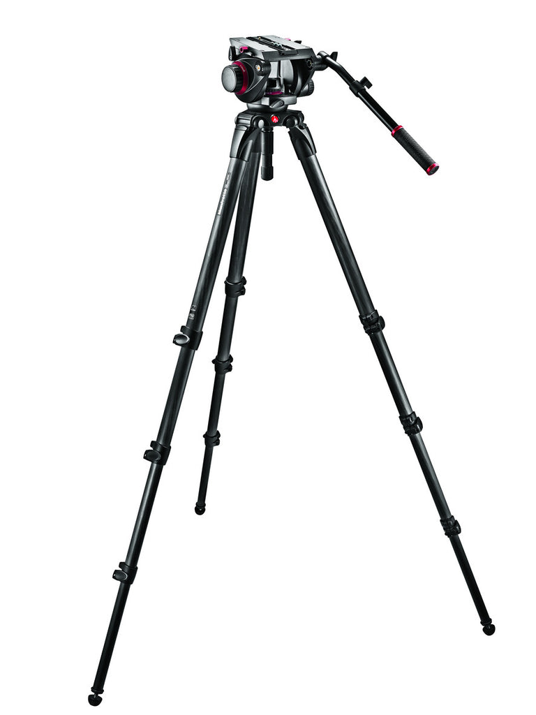 Manfrotto 509HD,536K Pro Single Carbon Fiber Kit 100