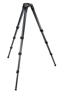 Manfrotto 536 Carbon Fiber 3-Stage Video Tripod 75/100