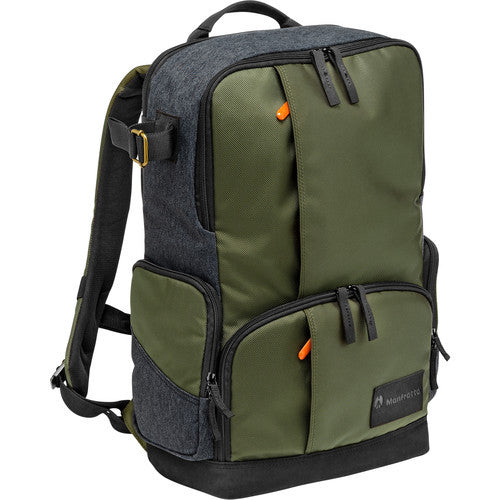 Manfrotto Street MB MS-BP-IGR Medium Backpack (Gray/Green)