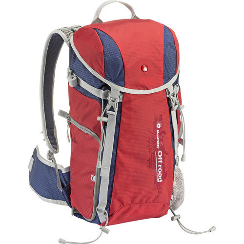 Manfrotto MB OR-BP-20RD Off Road Hiker 20L Backpack (Red)