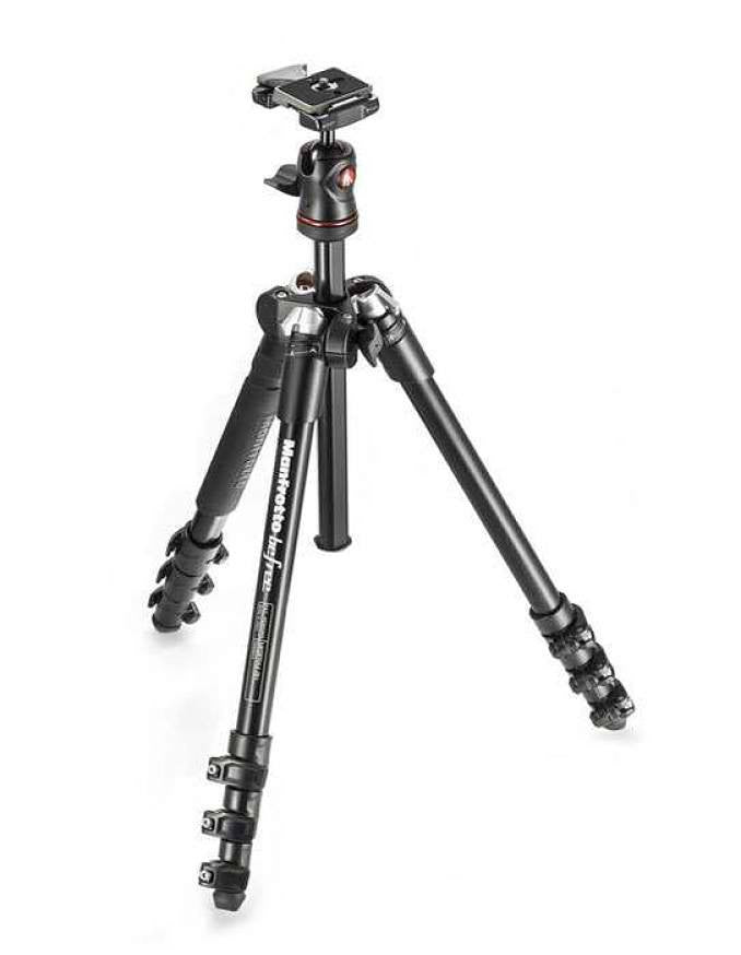 Manfrotto MKBFRA4-BHCN Befree Aluminum Tripod Kit