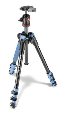 Manfrotto MKBFRA4L-BH Befree Aluminum Tripod With Ball Head Blue
