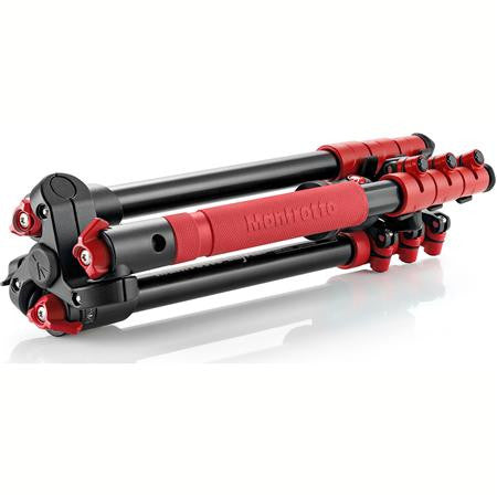 Manfrotto MKBFRA4R-BH Befree Aluminum Tripod With Ball Head Red