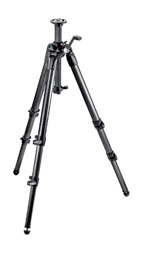Manfrotto MT057C3-G 057 Carbon Fibre Tripod-3s Geared