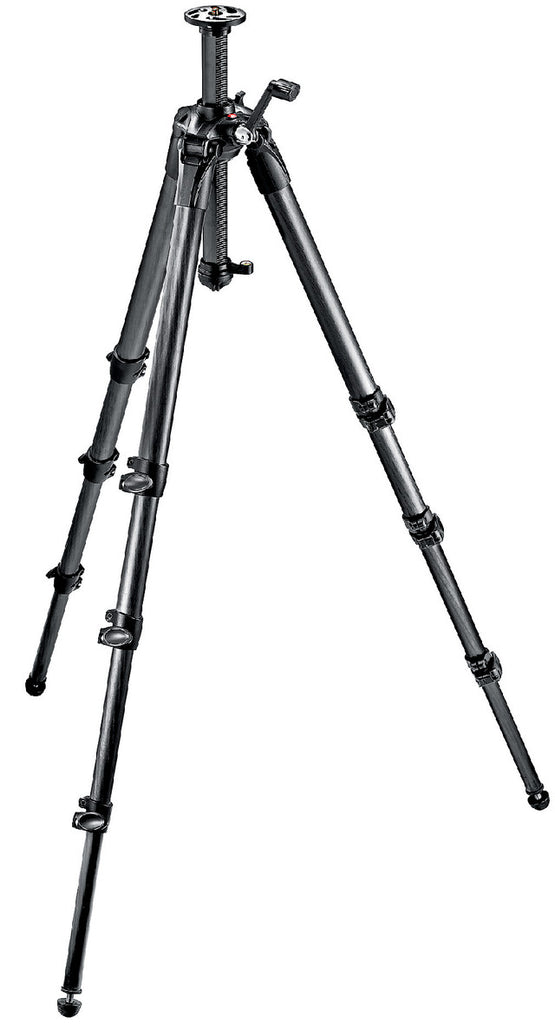 Manfrotto MT057C4-G 057 Carbon Fibre Tripod-4s Geared