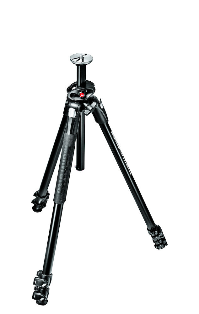 Manfrotto MT290DUA3 290 Dual Aluminum 3 Section Tripod