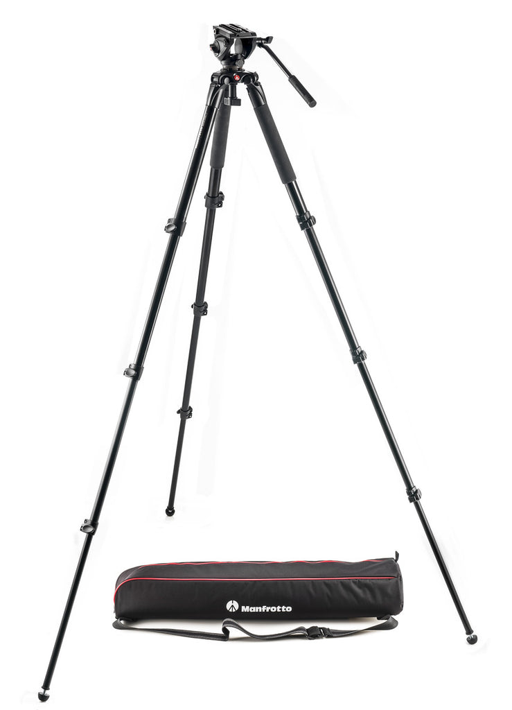 Manfrotto MVK500AQ 500 Aluminum Single Leg Video System