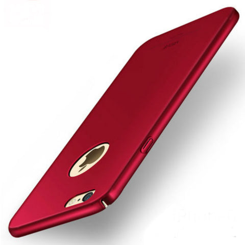 Hard Shell Matte Case 5.5 inch for iPhone 6/6s Plus (Maya Red)