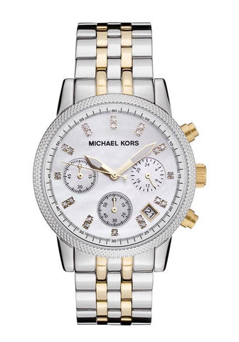 Michael Kors Ritz Two-Toned MK5057 Watch (New with Tags)