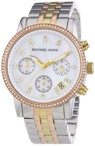 Michael Kors Ritz Chronograph MK5650 Watch (New with Tags)