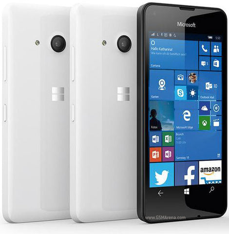 Microsoft Lumia 550 8GB 3G White Unlocked