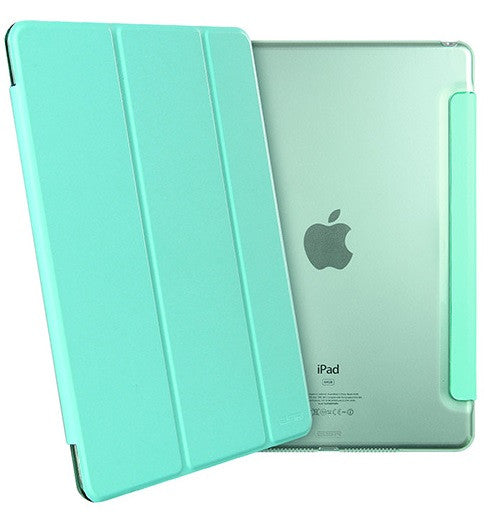 iPad Mini 4 Flip Cover with Hard Back Case (Mint Green)