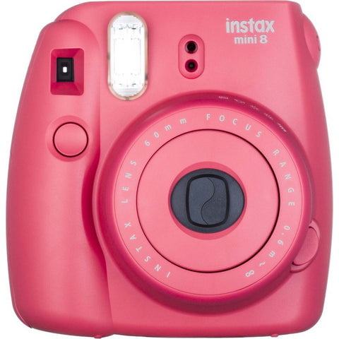 Fuji Film Instax Mini 8 Raspberry Instant Camera