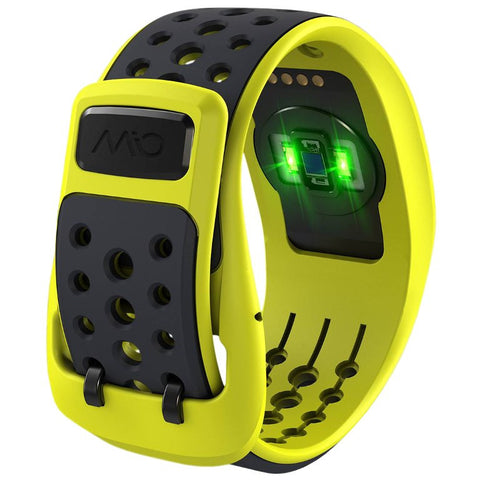 Mio Link Heart Rate Wristband Electric Yellow