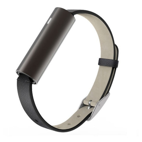 Misfit Ray Fitness and Sleep Monitor with Leather band (Carbon Black)