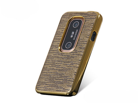 Momax Feel & Touch Case For Evo 3D (Gold)