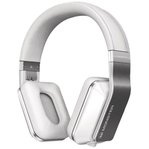 Monster Inspiration White Over-Ear Headphones