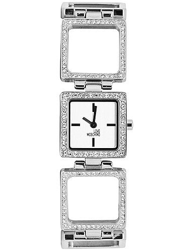 Moschino Love Steel and Stones MW0447 Watch (New with Tags)