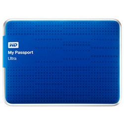 WD My Passport Ultra USB 3.0 3TB External Hard Drive (Blue) WDBBKD0030BBL-CESN