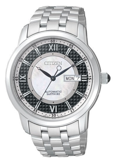 Citizen Automatic Sapphire Mother Of Pearl NH8300-57E Watch (New with Tags)