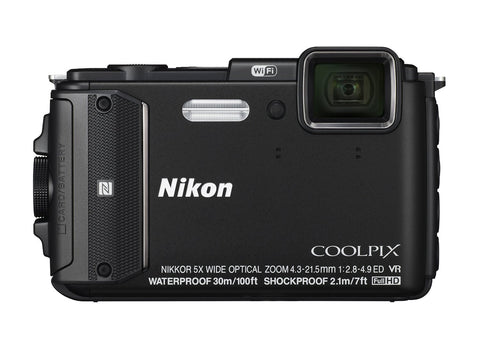 Nikon Coolpix AW130 Black Digital Camera