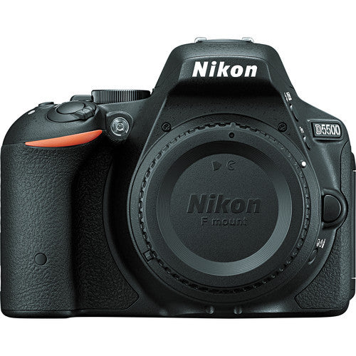 Nikon D5500 Body Black Digital SLR Camera (Kit Box)