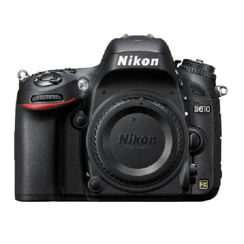 Nikon D610 Body Black Digital SLR Camera (Kit Box)