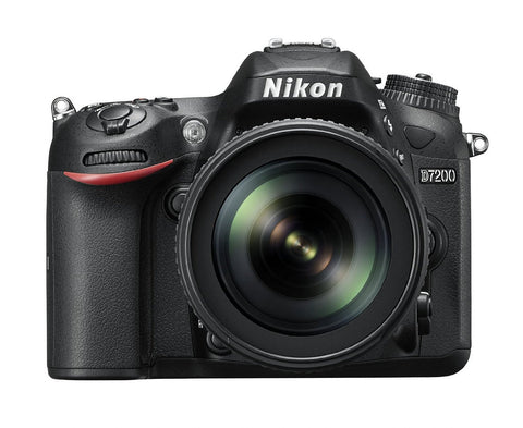 Nikon D7200 with 18-105mm Black Digital SLR Camera