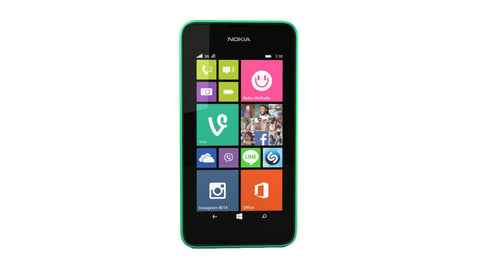 Nokia Lumia 530 4GB 3G Bright Green Unlocked