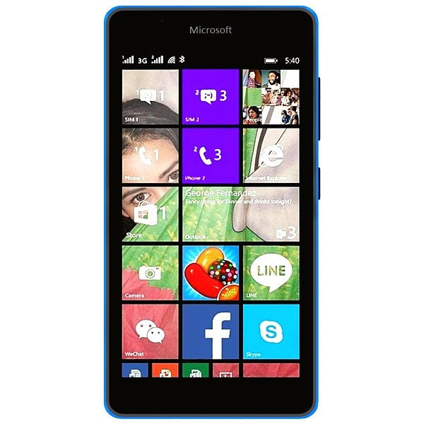 Nokia Lumia 535 Dual 8GB 3G Blue Unlocked