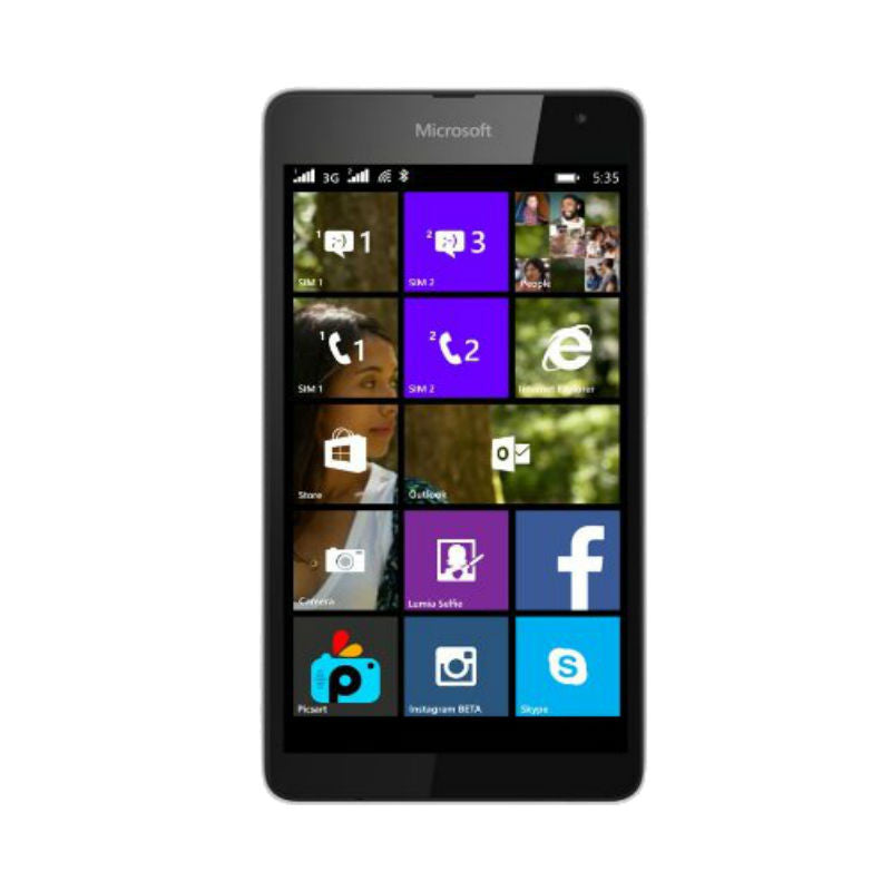 Nokia Lumia 535 Dual 8GB 3G White Unlocked