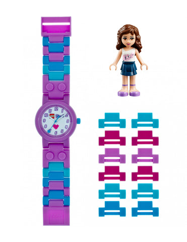 Lego Friends Olivia Minifigure 8020165 Watch (New with Tags)