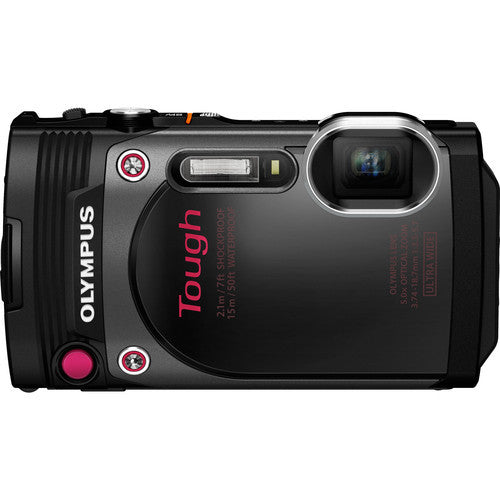 Olympus Stylus Tough TG-870 Black Digital Camera