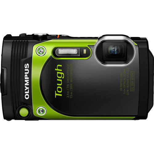 Olympus Stylus Tough TG-870 Green Digital Camera