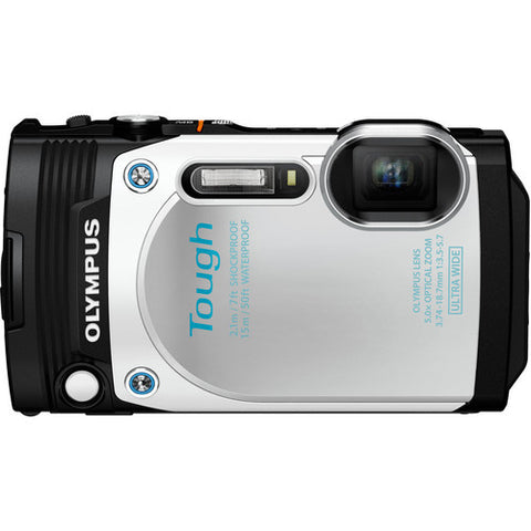 Olympus Stylus Tough TG-870 White Digital Camera