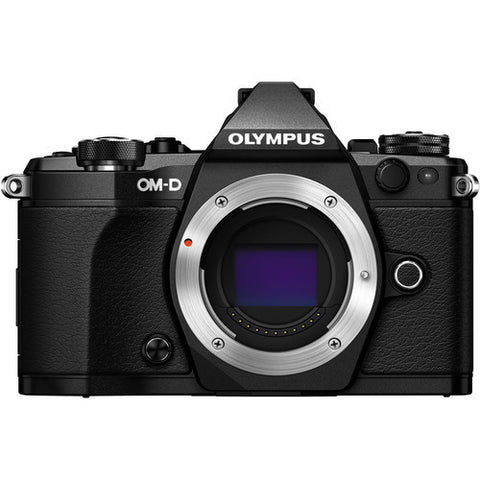 Olympus OM-D E-M5 Mark II with 12-50mm Lens Mirrorless Micro Four Thirds Black Digital SLR Cameras