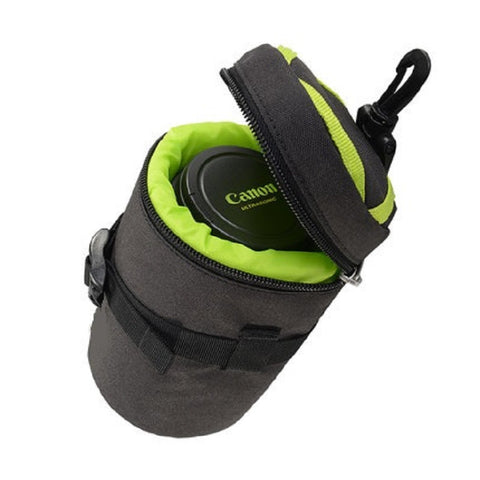 Protective 15x9 Camera Lens Barrel Bag Sleeve