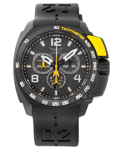 Aviator Professional Quartz P21550886 Watch (New with Tags)