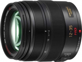 Panasonic Lumix G X Vario 12-35mm f2.8 ASPH Power OIS Black Lens