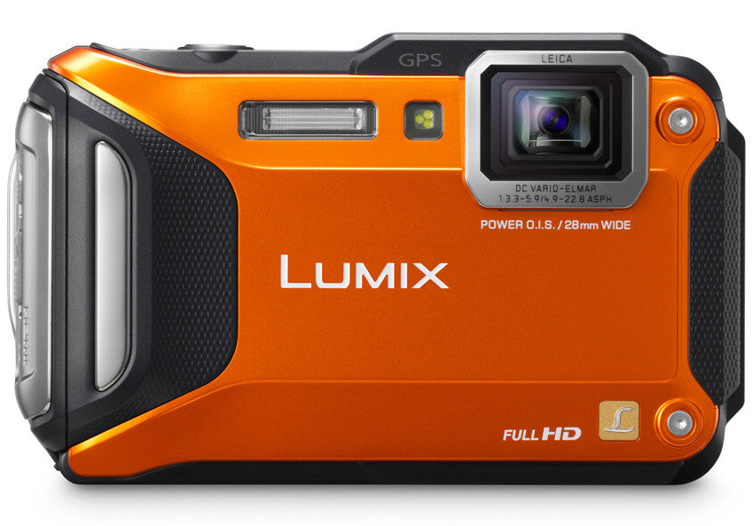 Panasonic Lumix DMC-FT6 Orange Digital Camera