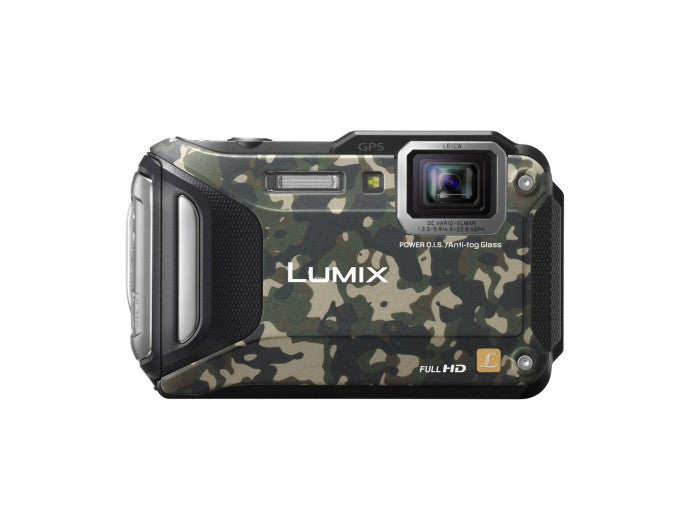 Panasonic Lumix DMC-FT6 Camouflage Digital Camera