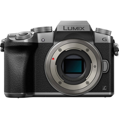 Panasonic Lumix DMC-G7 Body Silver Mirrorless Digital Camera