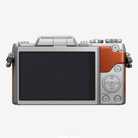 Panasonic Lumix DMC-GF8K with 12-32mm Kit Lens (Orange Silver)