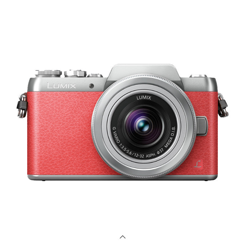 Panasonic Lumix DMC-GF8K with 12-32mm Kit Lens (Pink Silver)