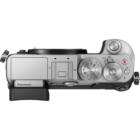 Panasonic Lumix DMC-GX8 Body Silver Mirrorless Digital Camera